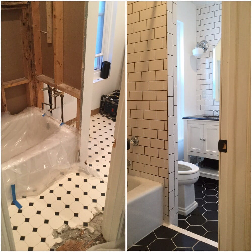 Beautiful bathroom remodel yelp for Bathroom remodel yelp