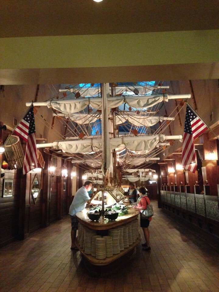 Photo Of Captain George S Seafood Restaurant Myrtle Beach Sc United States Buffet