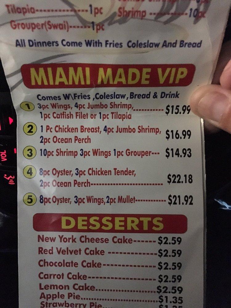 Miami Made Fish And Chicken: 217 New Franklin Rd, LaGrange, GA