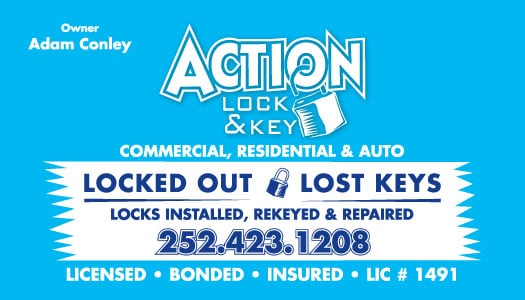 Action Lock and Key: 4396 Mill Landing Rd, Wanchese, NC