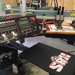 B b sports screen printing t shirt printing 6109 n for Tampa t shirt printing