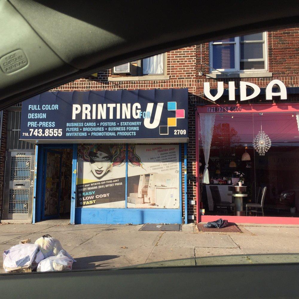 Printing for u printing services 2709 avenue u sheepshead bay printing for u printing services 2709 avenue u sheepshead bay brooklyn ny phone number yelp reheart Gallery