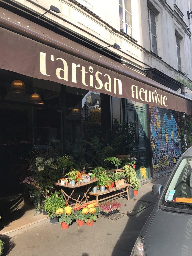 L atelier de l artisan fleuriste florer as 95 rue - Atelier du marais agencement ...