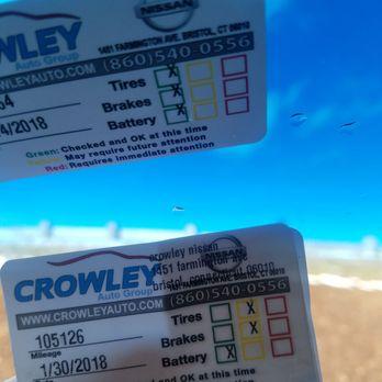 Photo Of Crowley Nissan   Bristol, CT, United States. Makes No Sense!