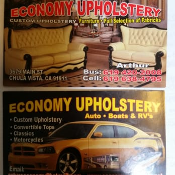 Economy Upholstery Furniture Reupholstery 3679 Main St Otay