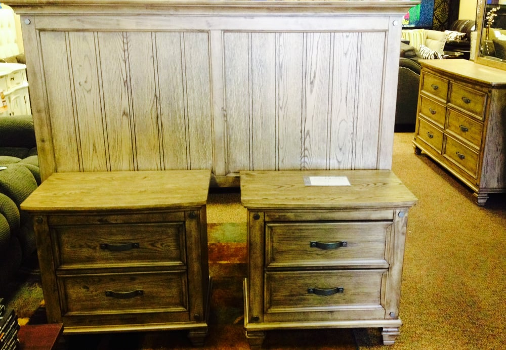Rustic Modern Bedroom Set Available In Queen King Sizes Yelp