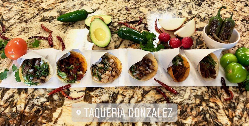 Food from Taqueria Gonzalez