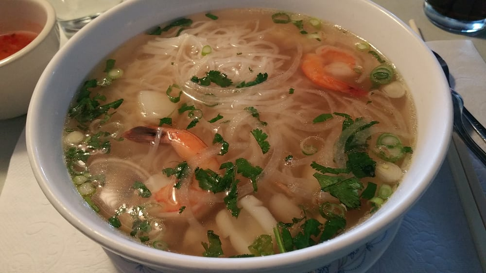 Pho do bien seafood pho at mekong authentic vietnamese for Authentic vietnamese cuisine