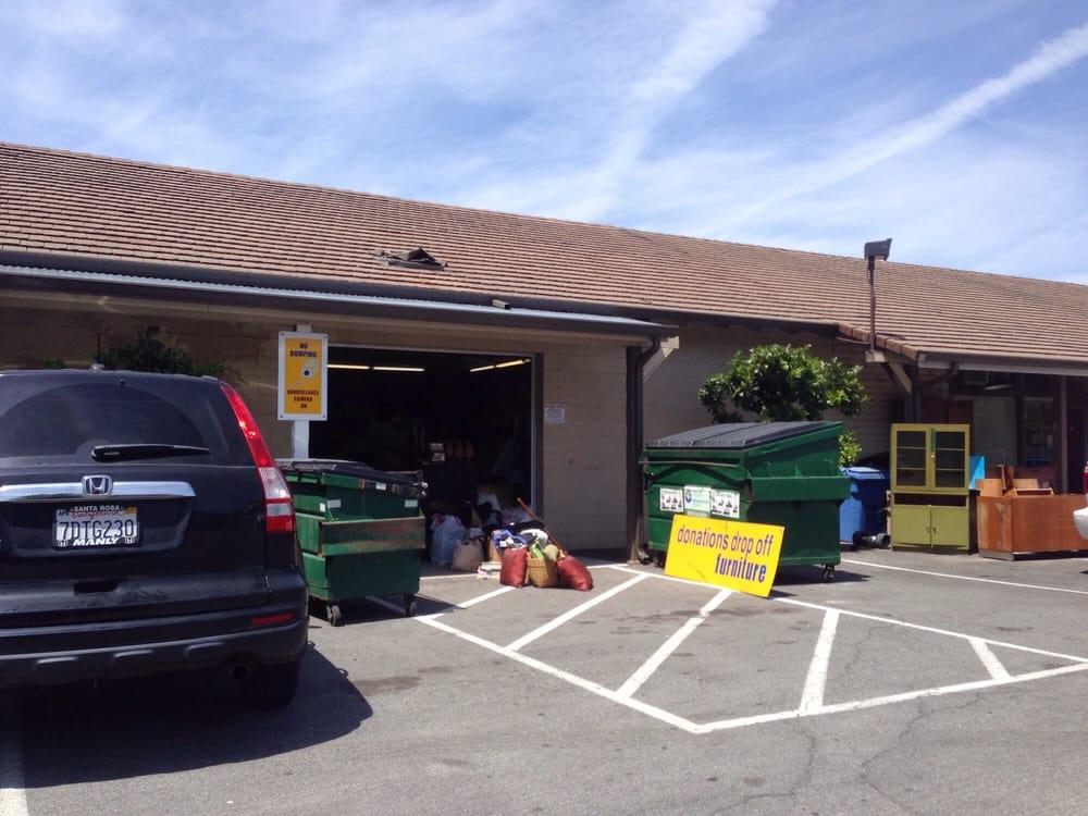 Bon Marche Thrift Store: 19405 Riverside Dr, Sonoma, CA