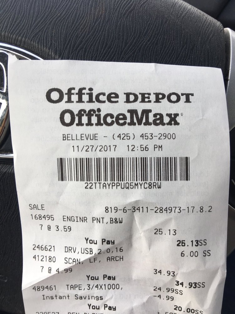 Office depot 26 reviews office equipment 100 108th ave ne office depot 26 reviews office equipment 100 108th ave ne bellevue wa phone number yelp gumiabroncs Gallery