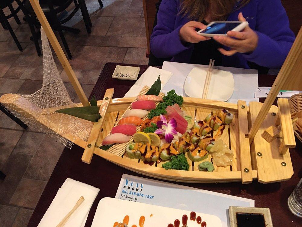 Yuan Sushi: 177 Remsen St, Cohoes, NY