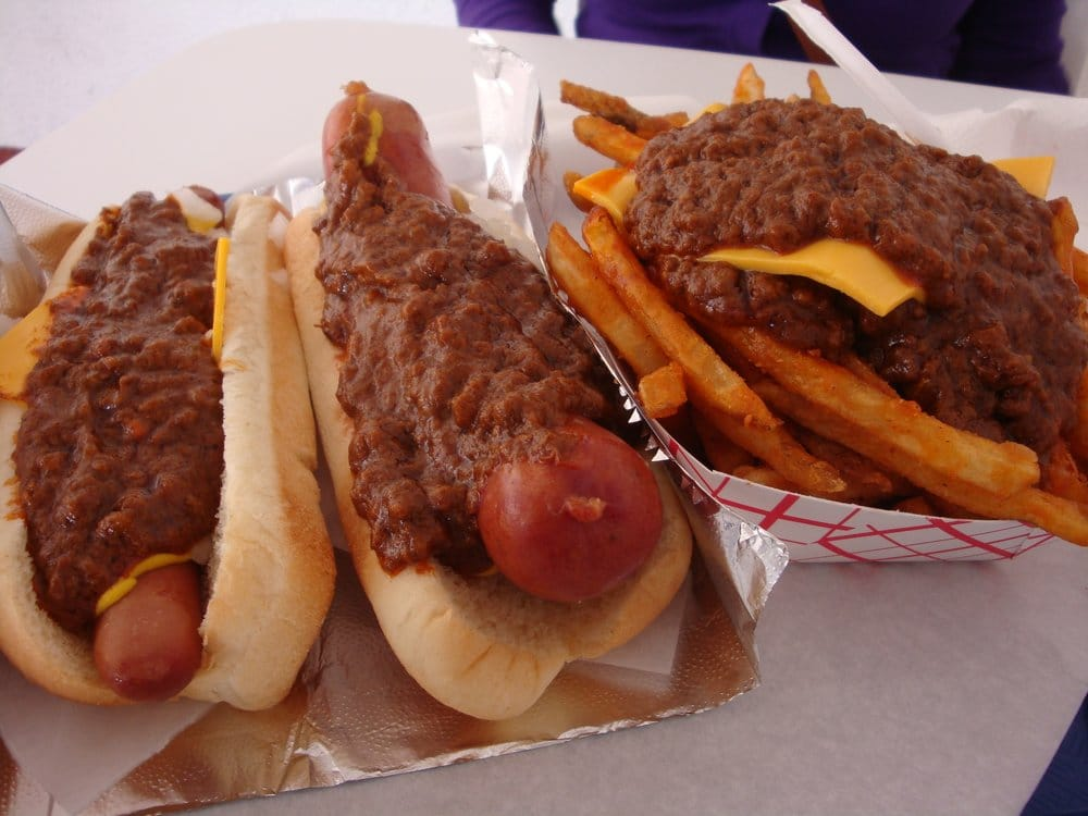 Le chili dog porn