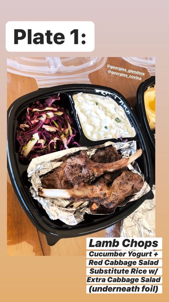 Georgie's Mediterranean cuisine: 1365 E Gladstone St, Glendora, CA
