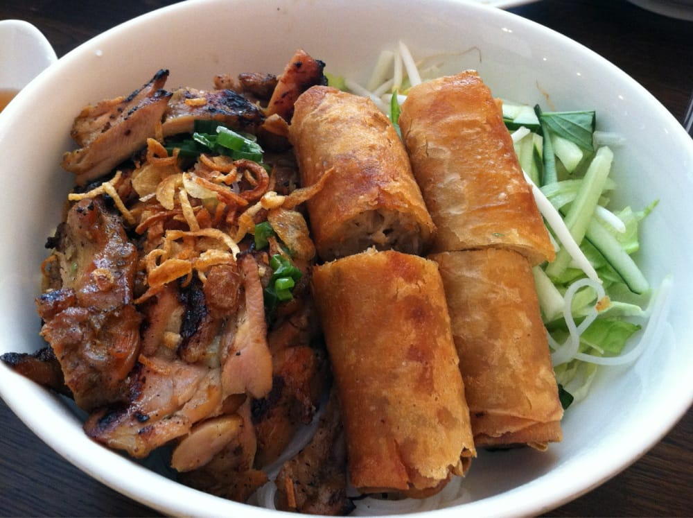 Photo Of Pho Capital Fairfax Va United States Vermicelli Noodles With Grilled