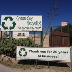 Green Guy Recycling 13 Photos Recycling Center 937 Hwy 80 San