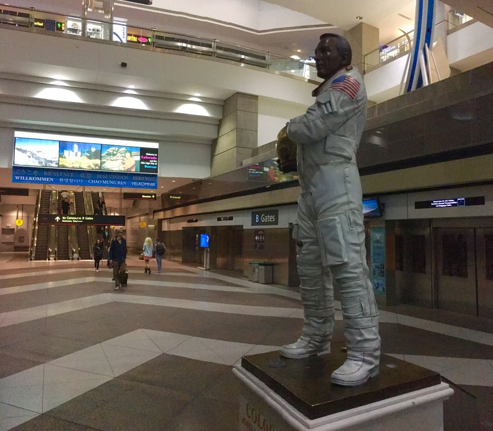 Denver Airport Den: Jack Swigert And The Inter-Concourse Train