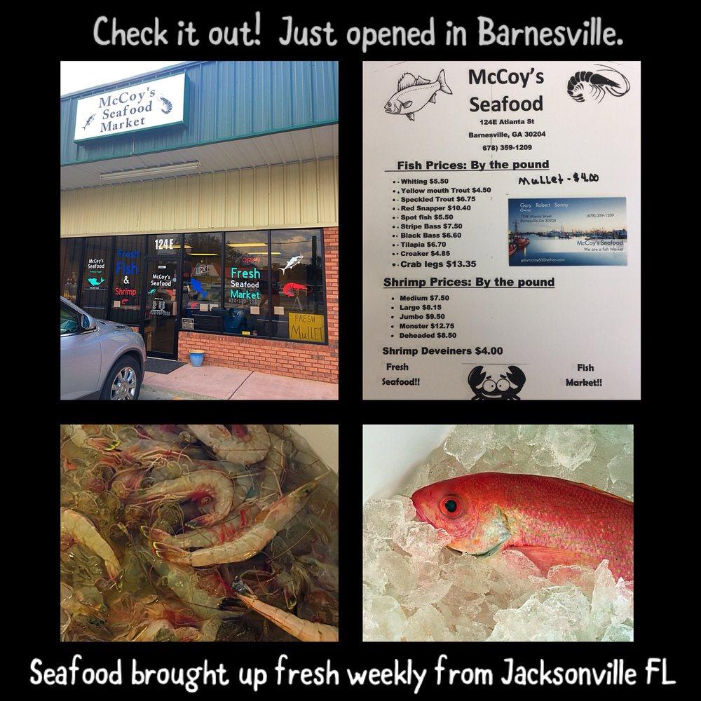McCoy's Seafood: 124 Atlanta St, Barnesville, GA