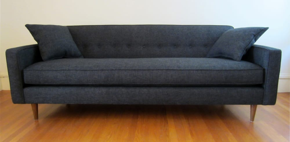 Front view of my new mid century modern couch from for Mid century furniture florida