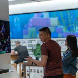 ff517253aa4 Photo of Microsoft Store - San Francisco, CA, United States. Xbox game demo