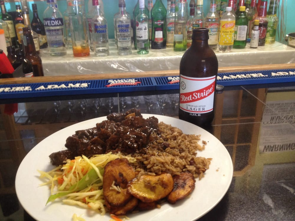Photo of Tropical Delicacy - Spring Valley, NY, United States. A classic oxtail and beer