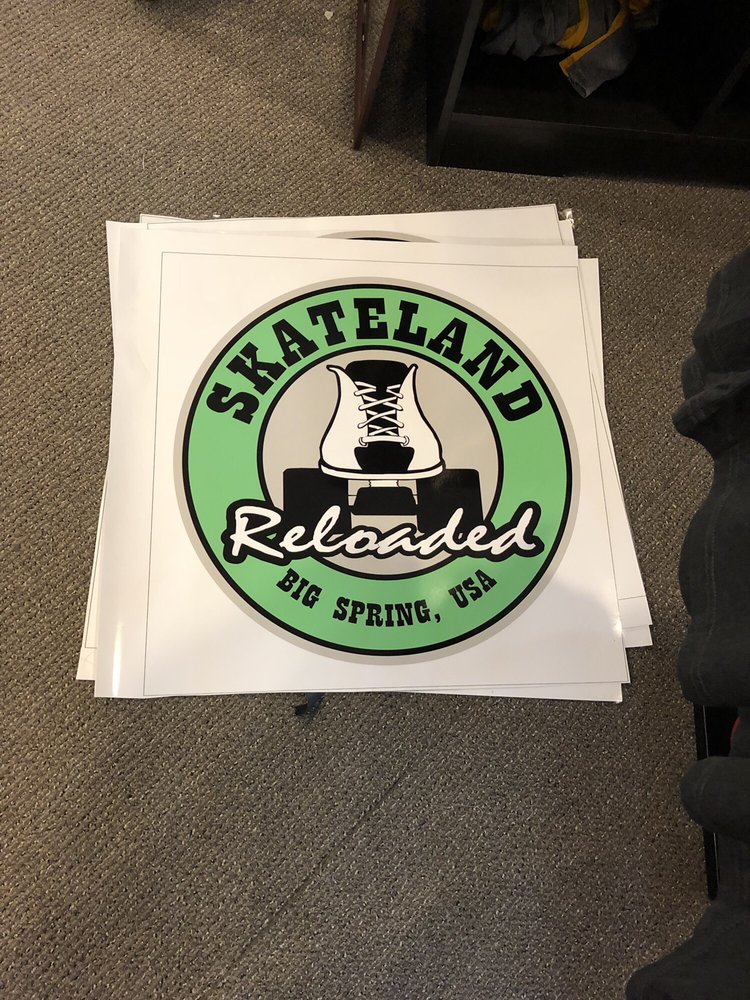 Skateland Reloaded: 2910 W 8th St, Big Spring, TX