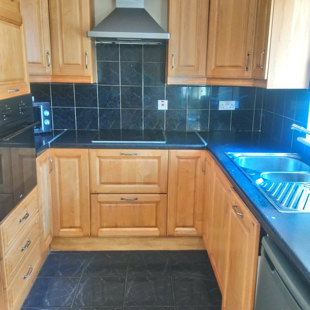 Photo of Effective Cleaning Services - Cork, Republic of Ireland. Kitchen Cabinet Cleaning