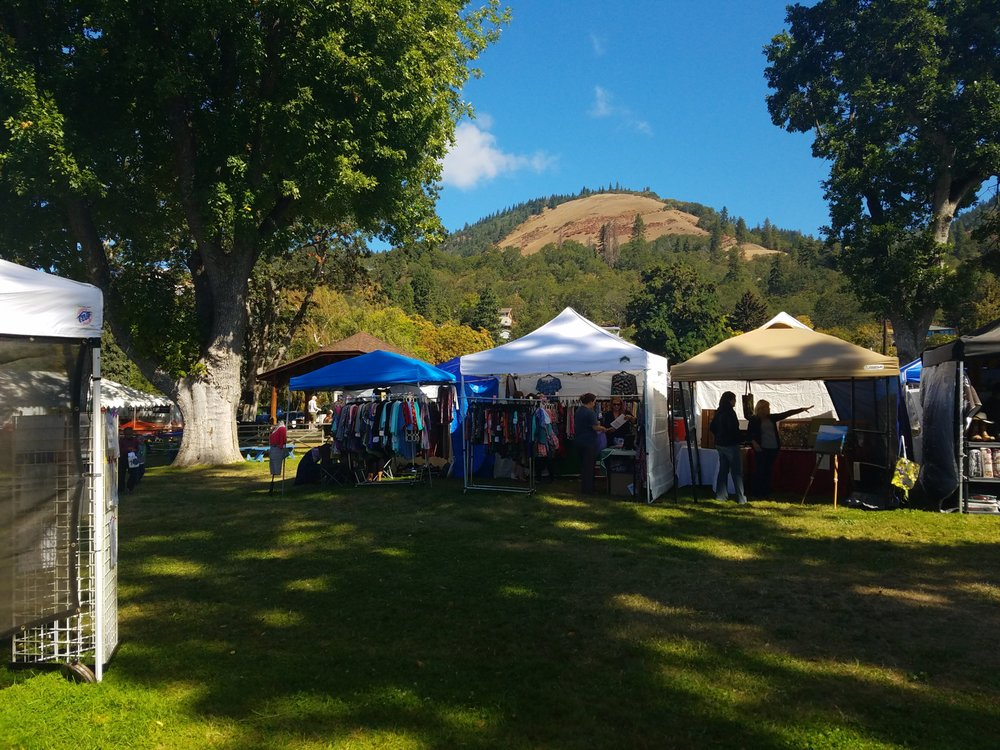 Huckleberry Festival: Daubenspeck Park, Bingen, WA