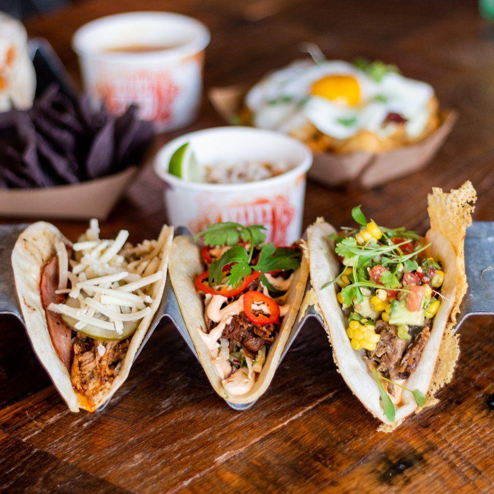 Food from Velvet Taco