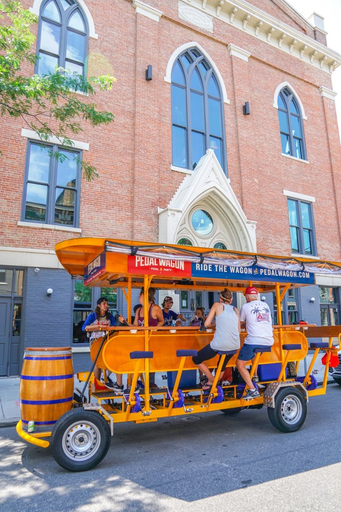 Pedal Wagon Cincinnati: 1114 Bunker Aly, Cincinnati, OH