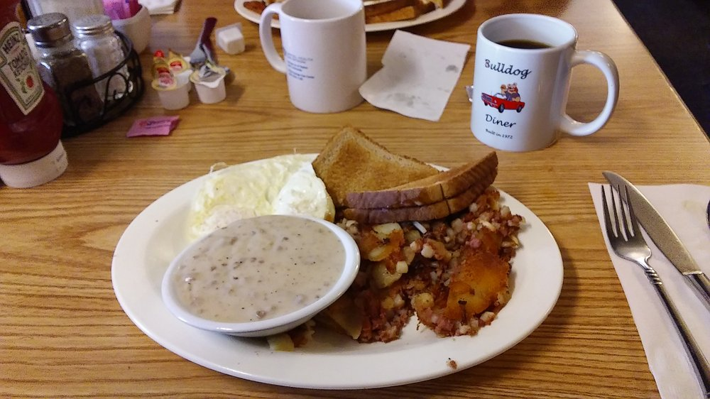 Bulldog Diner: 30 Lowry Dr, West Milton, OH