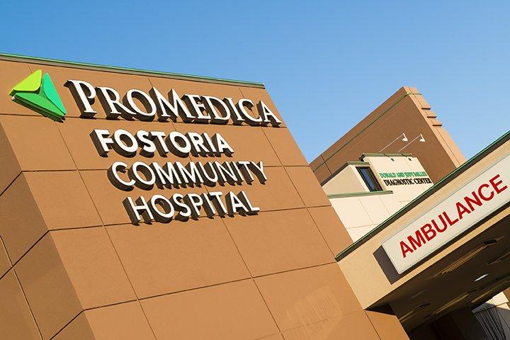Promedica Fostoria Community Hospital: 501 Van Buren St, Fostoria, OH