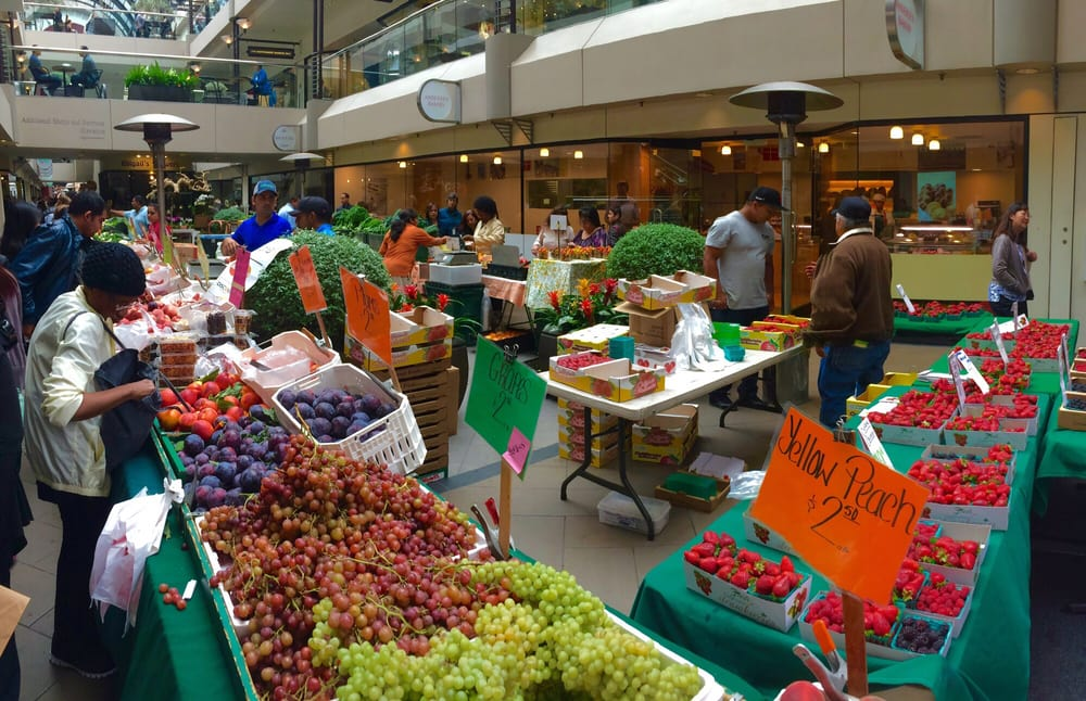 San Francisco Farmers' Market at Crocker Galleria