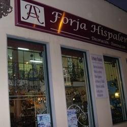 Forja hispalense negozi d 39 arredamento calle de jos - Forja hispalense ...