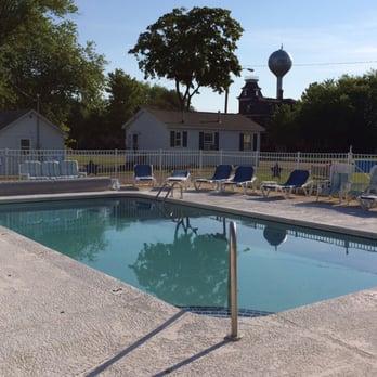 Photo Of Blue Spruce Motel Port Austin Mi United States Nice Pool