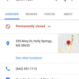 Holly Springs Save-A-Lot - CLOSED - Grocery - 255 Mary Rahe