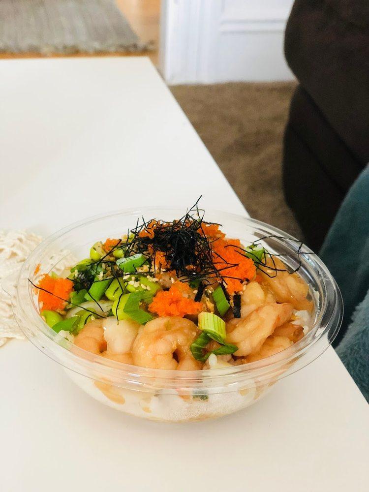 Food from Hometown Cafe & Poké Bar