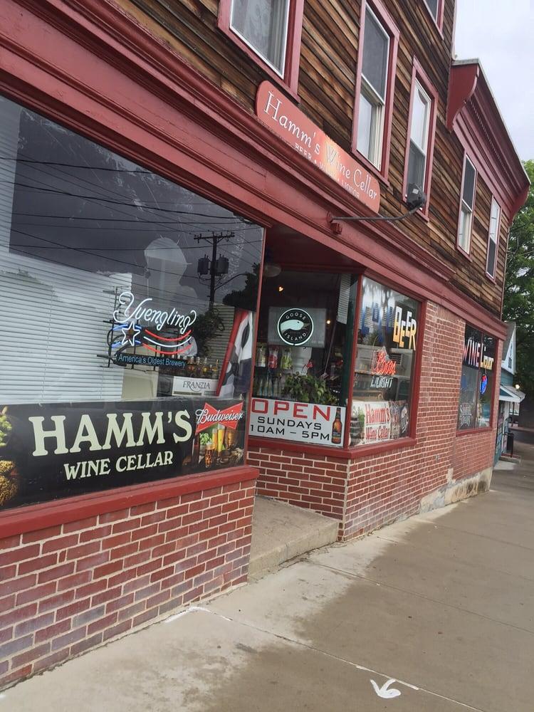Hamm's Wine Cellar: 7 Liberty St, Pawcatuck, CT