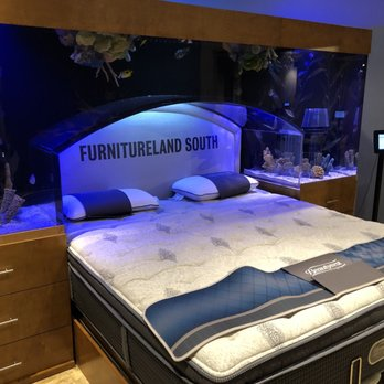 Photo Of Furnitureland South   Jamestown, NC, United States. Expensive  Bed/Aquarium
