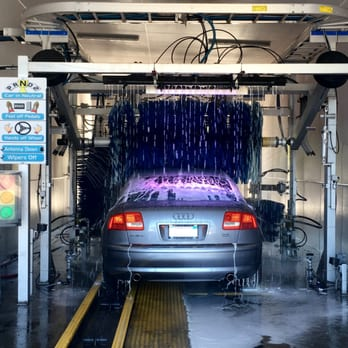 The Multi Colored Led Lighting Gives You Both A Car Wash And
