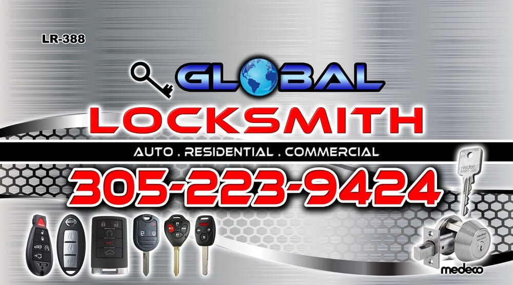 Global Locksmith: Miami Lakes, FL