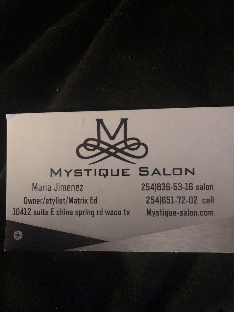 Mystique Salon: 10412 China Spring Rd, Waco, TX