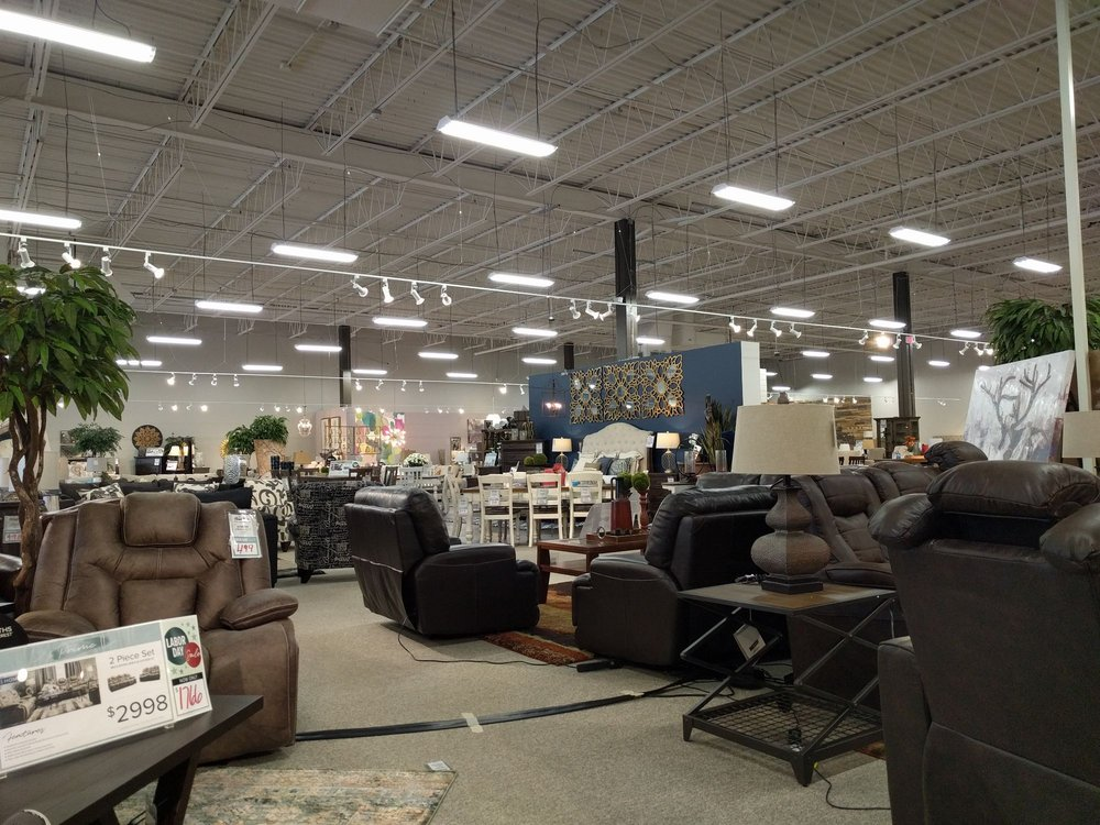 Home Zone Furniture: 110 W Campbell Rd, Richardson, TX