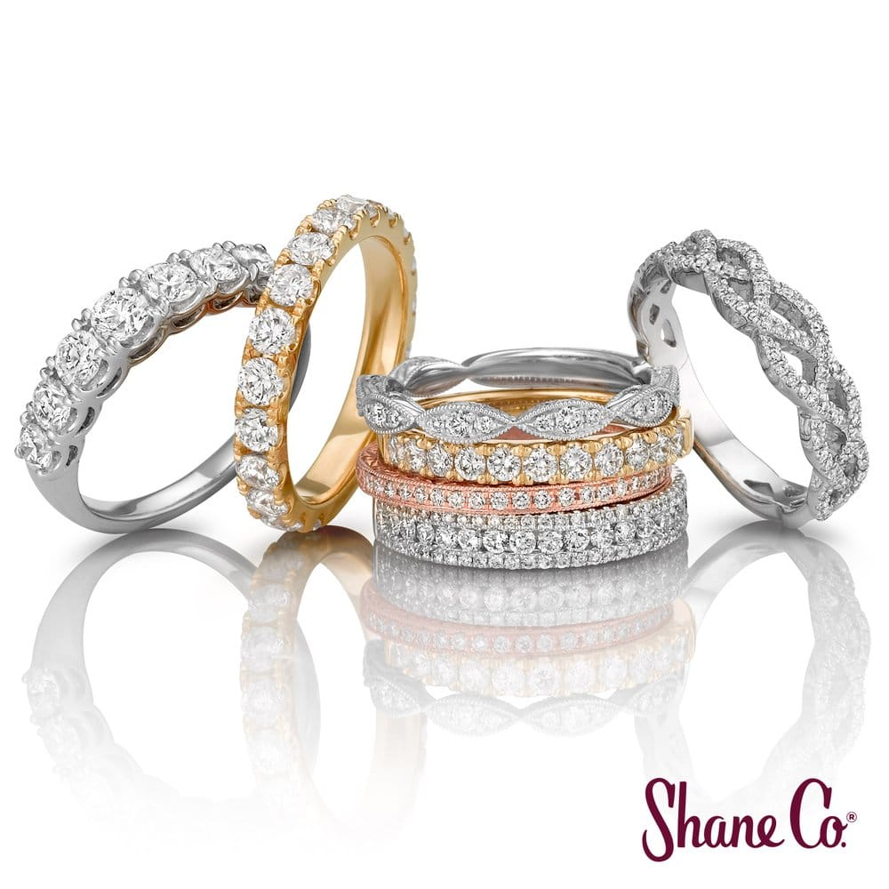 Shane Co Has A Huge Selection Of Wedding Bands In Yellow White And Rose Gol