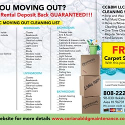 Coriana Cleaning & Building Maintenance LLC - 16 Reviews - Carpet ...