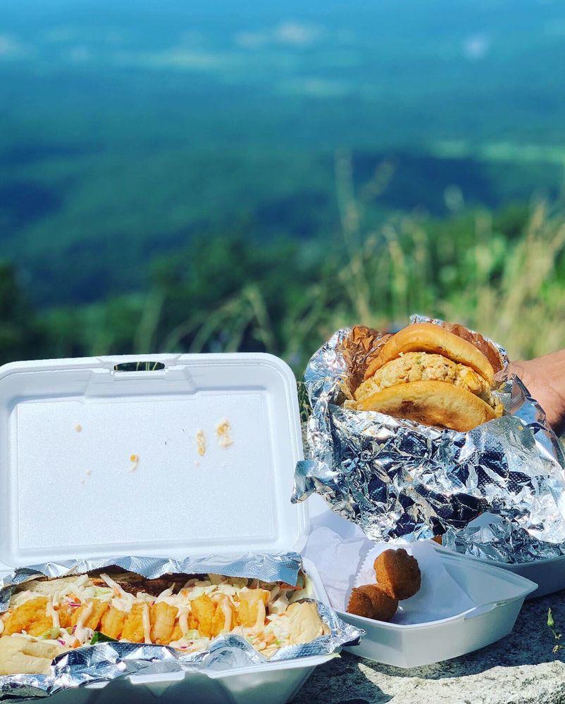 Talk of the Mountain Seafood: 117 E Main St, Front Royal, VA