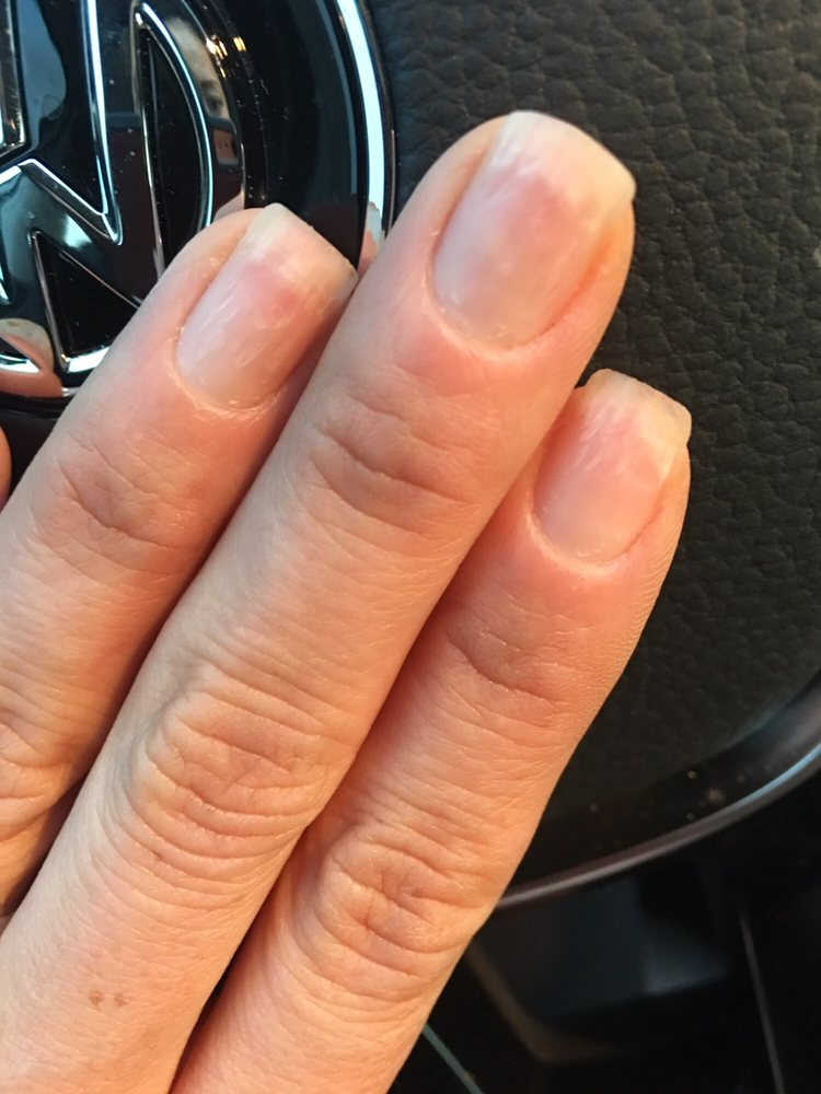 Damaged my nails with the grinder beyond repair from taking gel ...