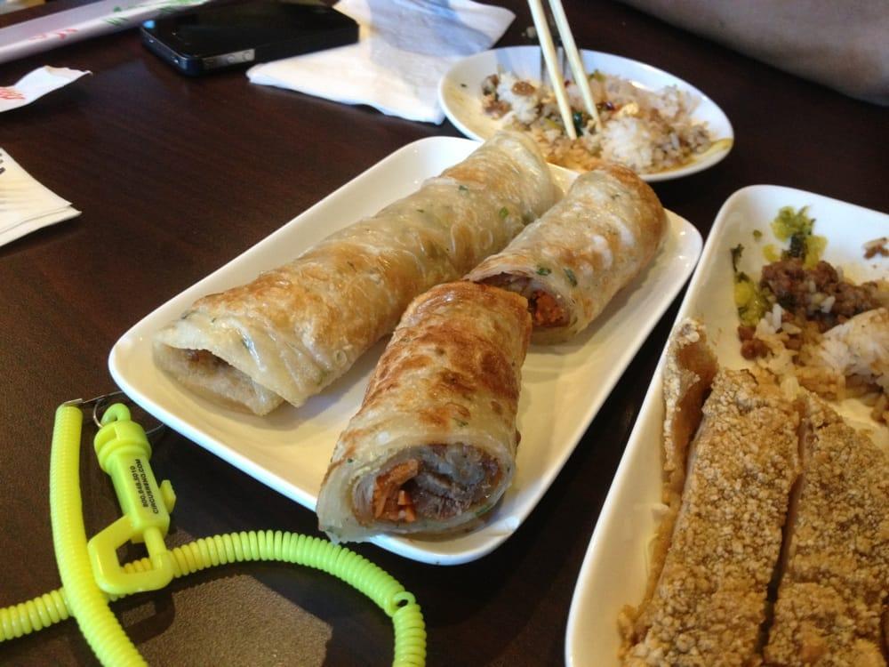Beef onion pancake wrap yelp for 101 taiwanese cuisine reno nv