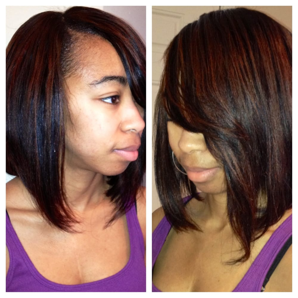 Hair Extensions Bob Style By Kiki Koiffure Of Houston Blowouts Yelp