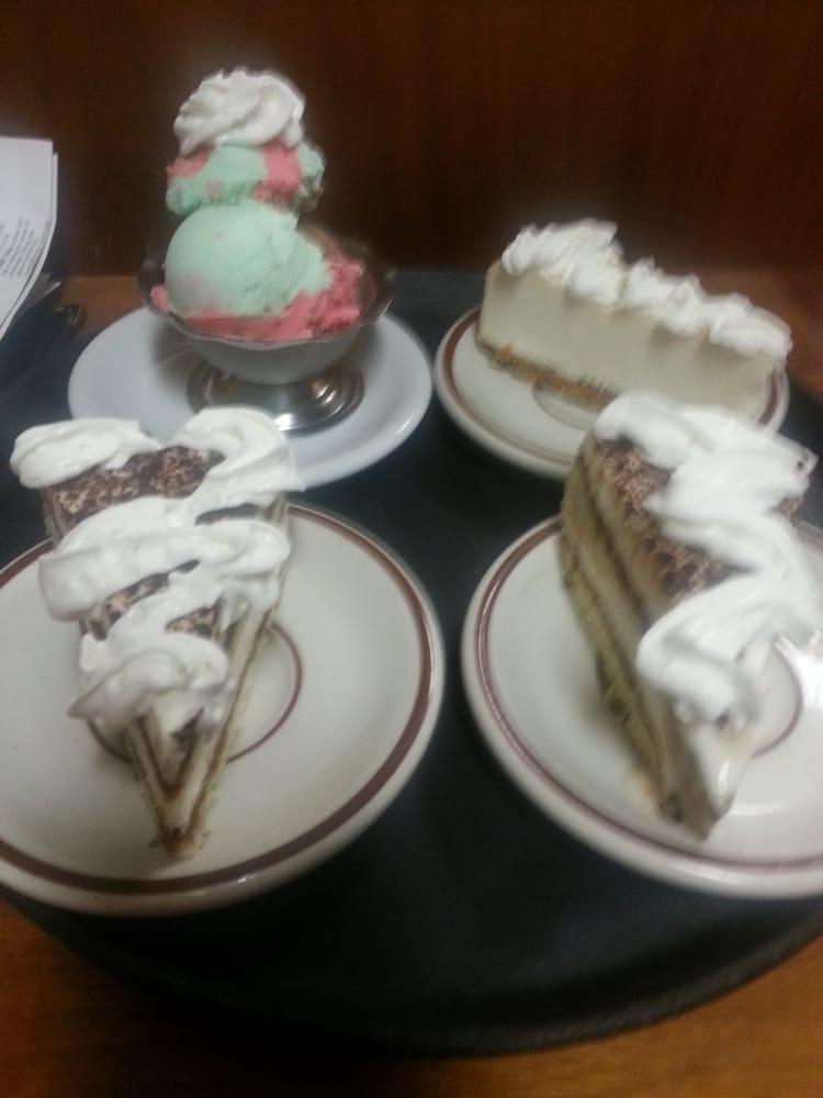 Dessert spumoni cheesecake tiramisu yelp for Anthony s creative italian cuisine