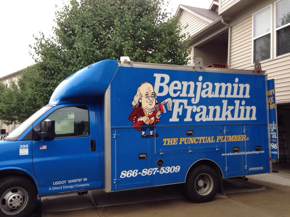 plumbers benjamin plumber logo franklin exclusive find ad of greenville simpsonville plumbing sc